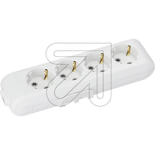 Panasonic steckdosenleiste ohne kabel 4 fach wei - Weihnachtsbeleuchtung ohne kabel ...