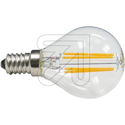 sigor led filament tropfenlampe e14 klar dimmbar sockel e14. Black Bedroom Furniture Sets. Home Design Ideas