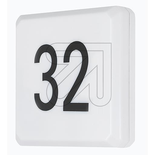 Bevorzugt LED-Hausnummernleuchte mit Dämmerungsschalter IP54 HL59