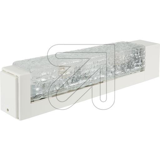 spiegelleuchte mit steckdose ip40 2xe14 40w l360mm an und unterbauleuchten. Black Bedroom Furniture Sets. Home Design Ideas
