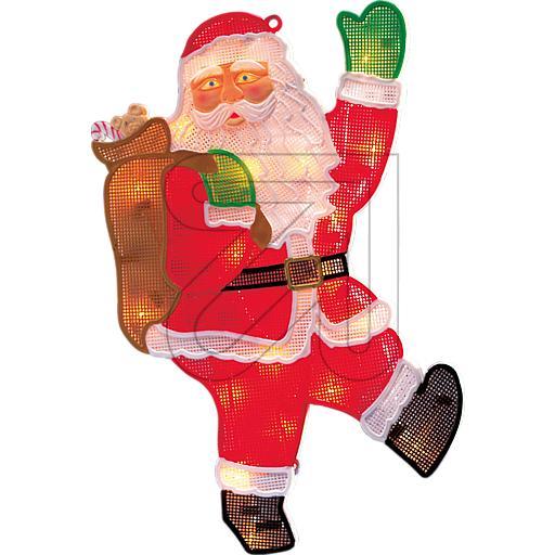 LED-Weihnachtsmann 20 LEDs ww 30x45cm 2850-010