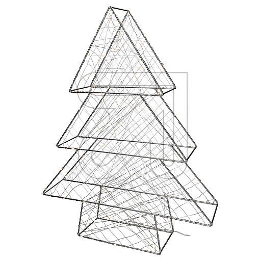 LED-3D-Metall-Baum 47x60x11cm 1792-333