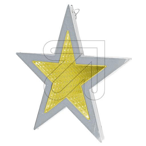 LED-Leuchter Stern warmweiß Ø35cm 48577