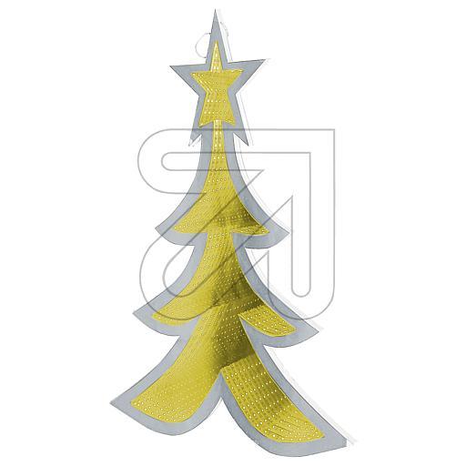 LED-Leuchter Weihnachtsbaum warmweiß H80cm 48553