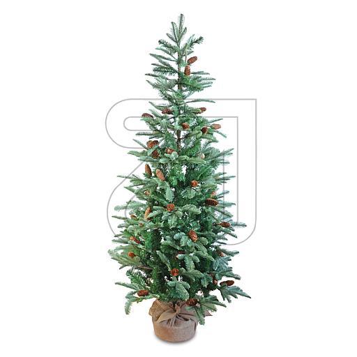 Künstlicher Weihnachtsbaum mit Zapfen 180cm grün